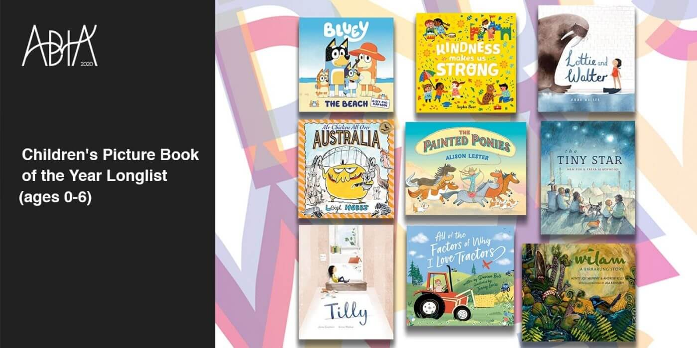 Children's Picture Book of the Year (ages 0-6) Longlist
