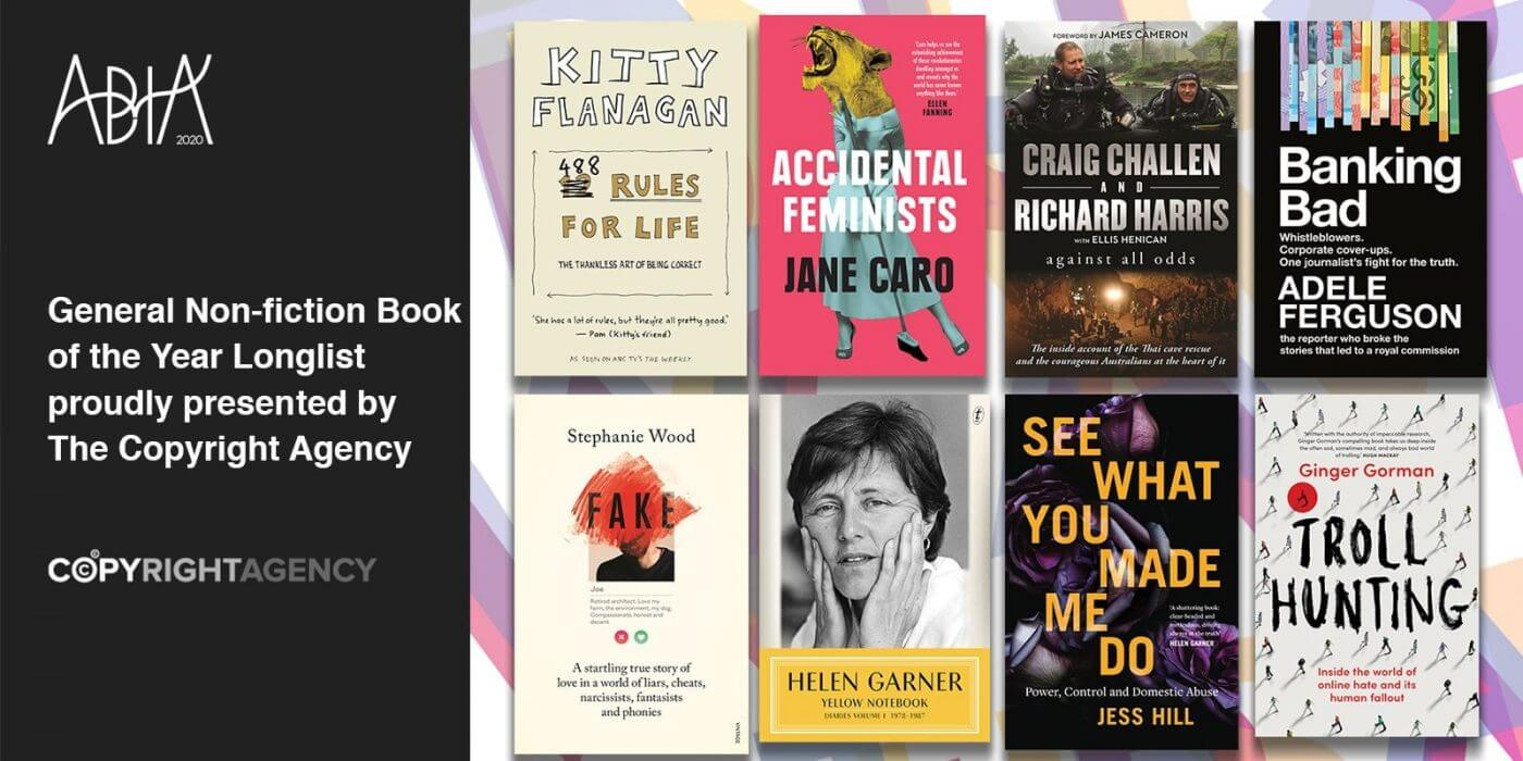 General Non-fiction Book of the Year Longlist