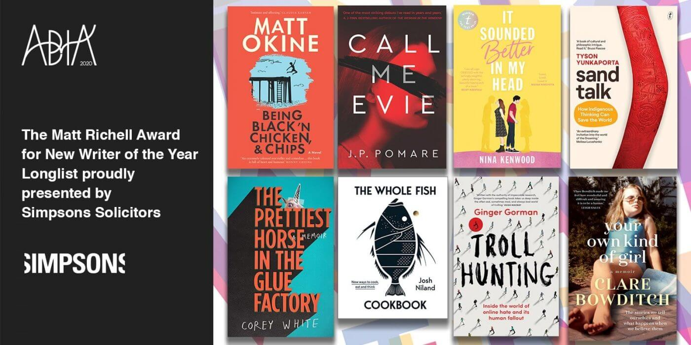 ABIA 2020 ABIA 2020 Small Publishers' Children's Book of the Year Longlist