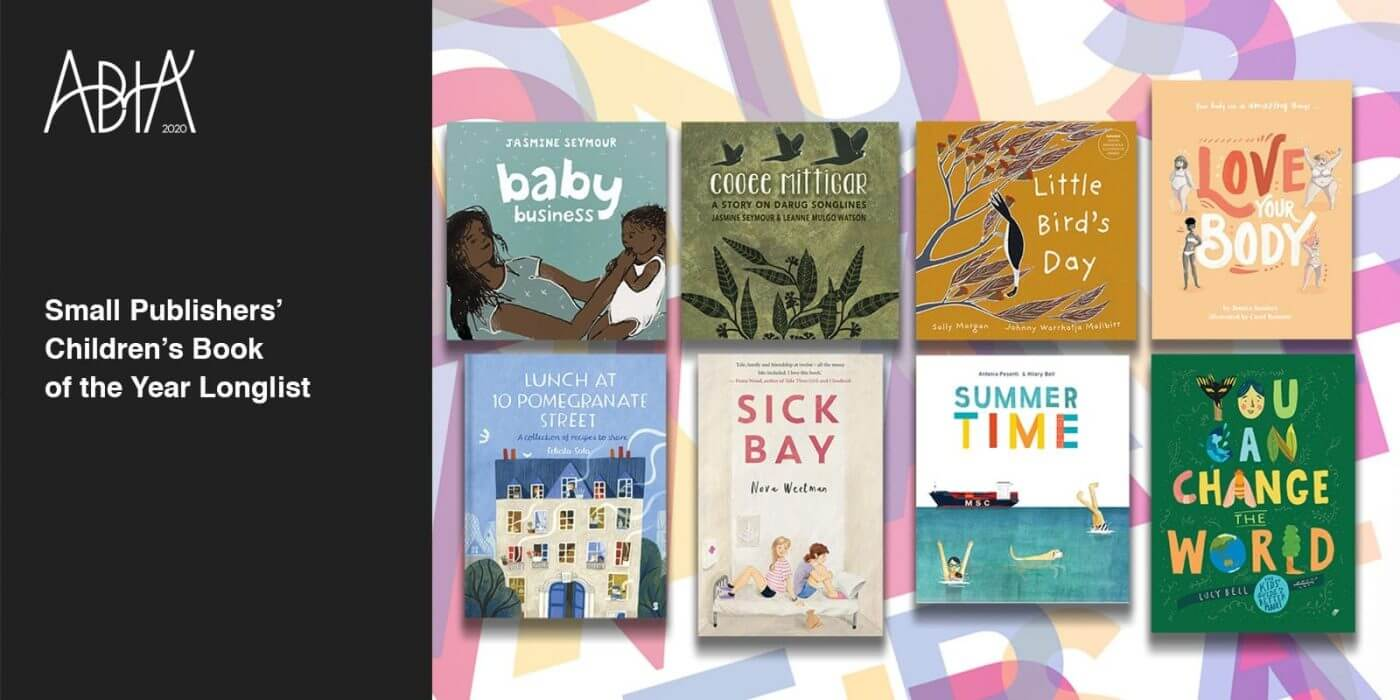 ABIA 2020 Small Publishers' Children's Book of the Year Longlist
