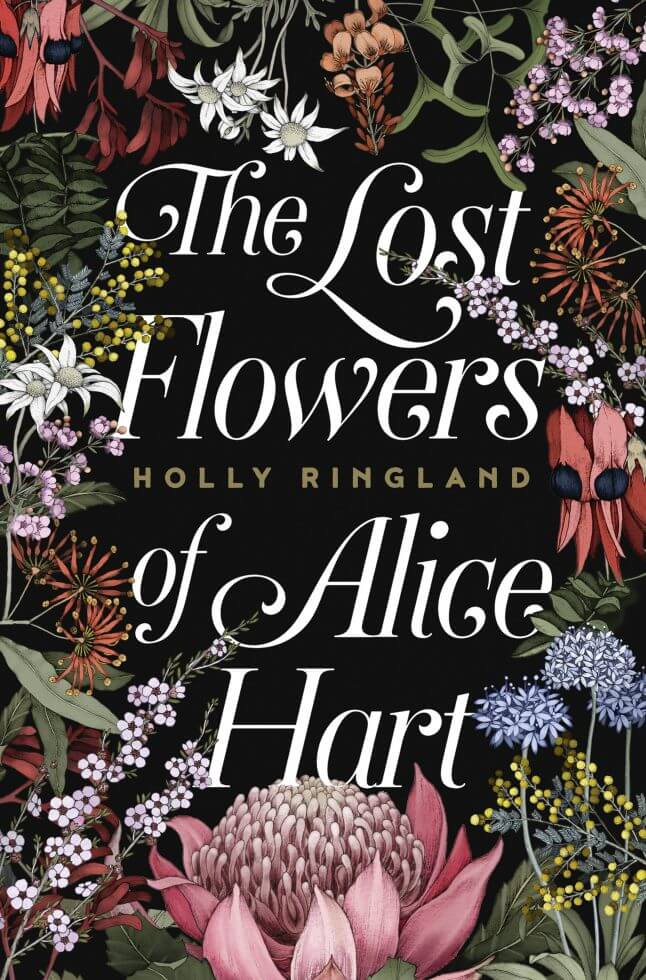 the lost flowers cover designed by Hazel Lam the winner of the ABDA Designer's Choice award